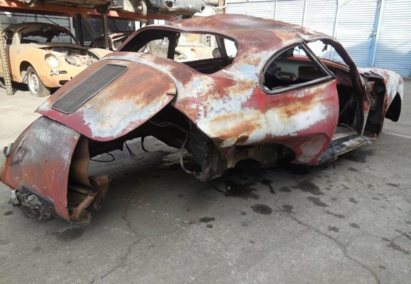 dirtyoldcars.com  1959 Porsche 356 A Coupe Project Car for Parts or Restoration 356A    6
