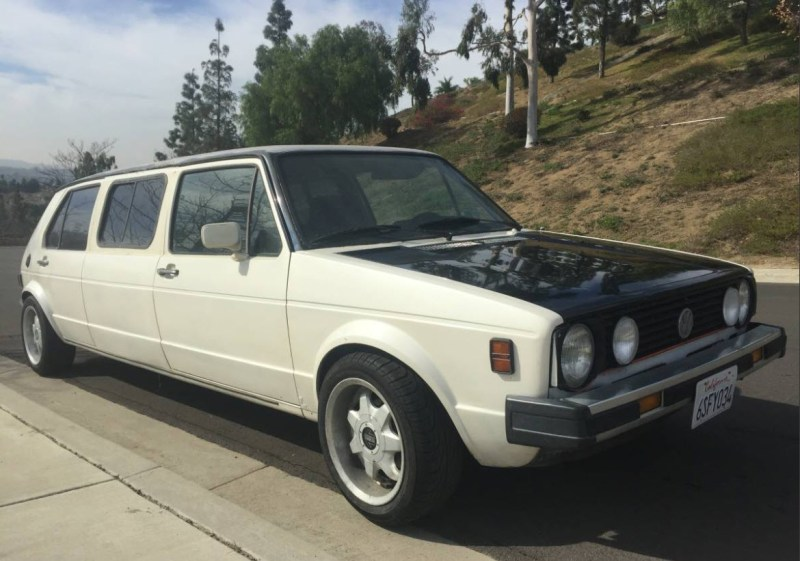 dirtyoldcars.com   1979 Volkswagen Rabbit Limo Found in California     4