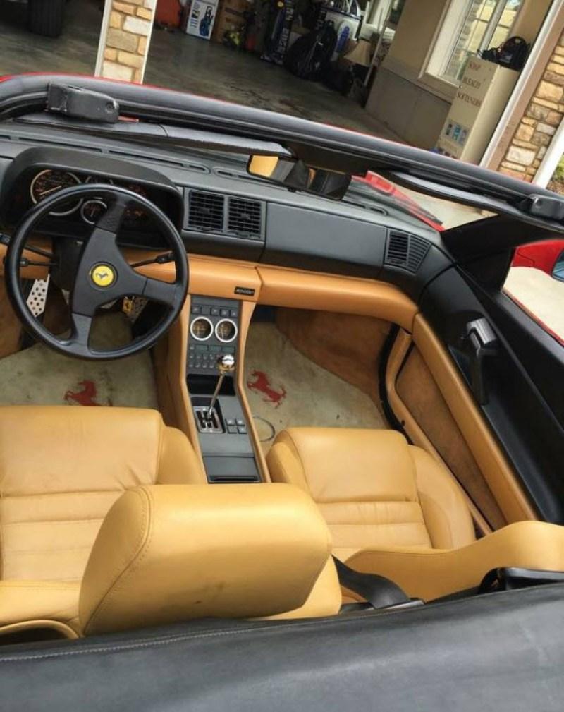 dirtyoldcars.com 1994 Ferrari 348 Spider Found in Hartwell Georgia 2