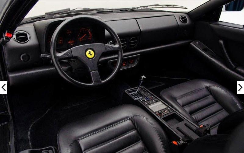 dirtyoldcars.com 1992 Ferrari 512TR Silver Found in Washington 4