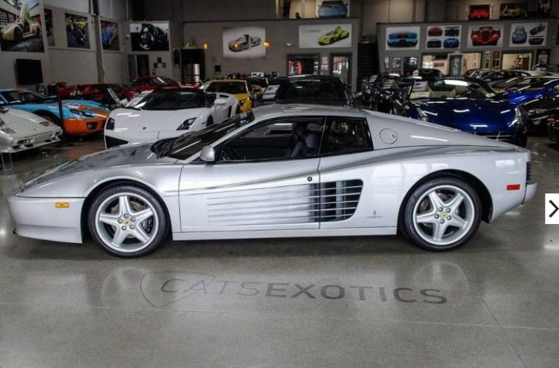 dirtyoldcars.com 1992 Ferrari 512TR Silver Found in Washington 3