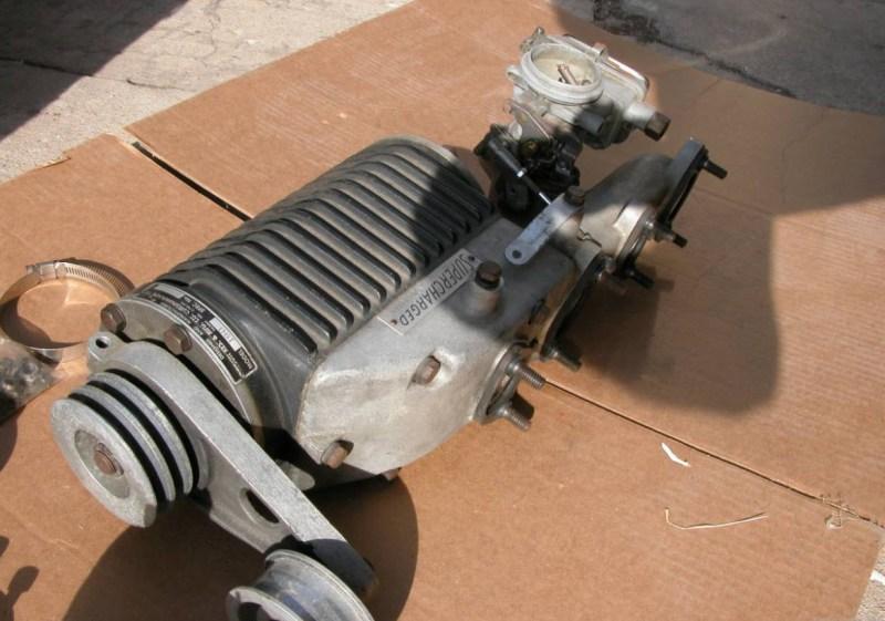 dirtyoldcars.com Judson Super For 190SL Found in Santa Cruz 4