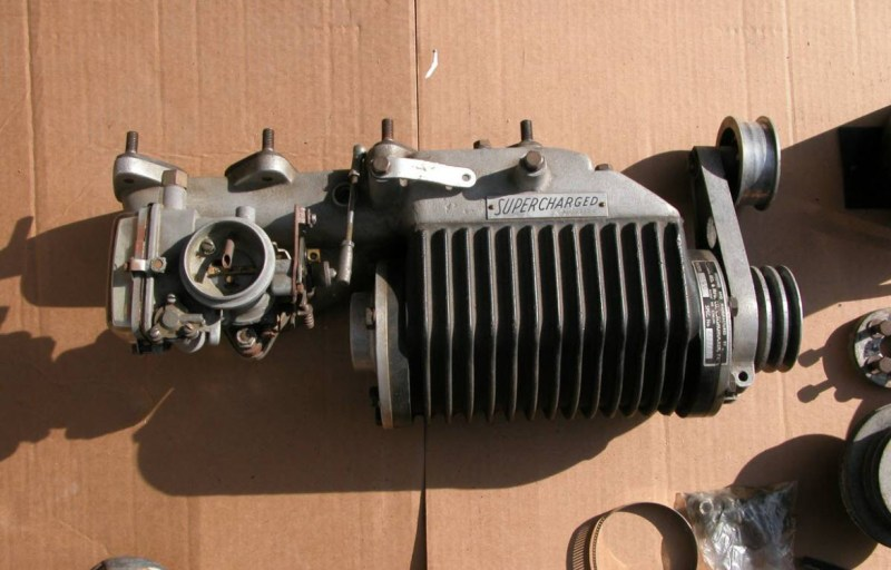 dirtyoldcars.com Judson Super For 190SL Found in Santa Cruz 5