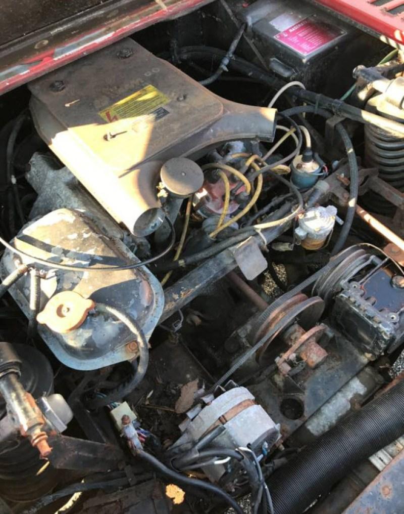 dirtyoldcarsc.com   1979 Maserati Merak SS  with Bora Dash Found in Maryland   7