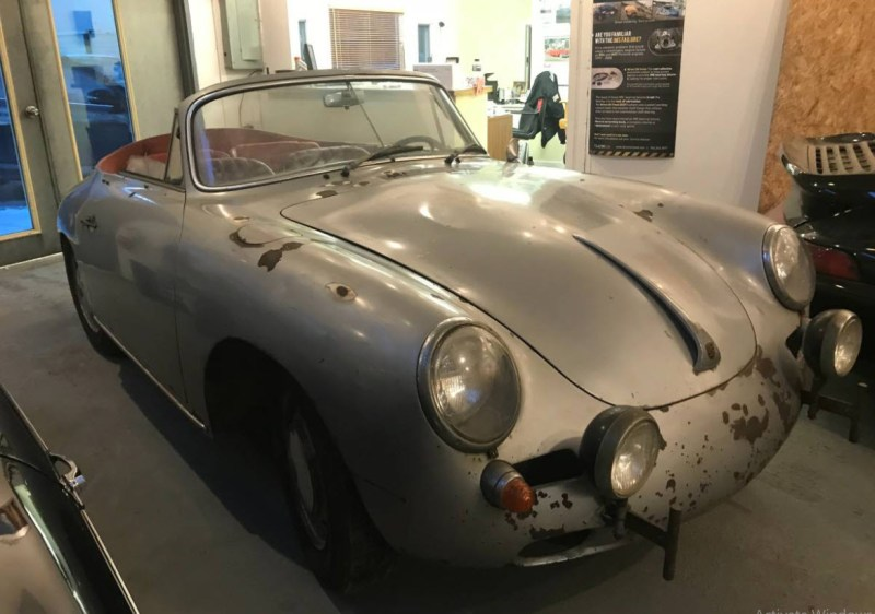 dirtyoldcars.com  1964 Porsche 356 Cabriolet Found in Shrewsbury  Boston  4