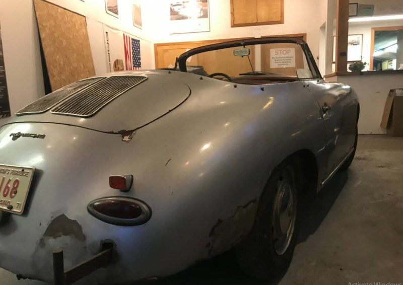 dirtyoldcars.com  1964 Porsche 356 Cabriolet Found in Shrewsbury  Boston  3