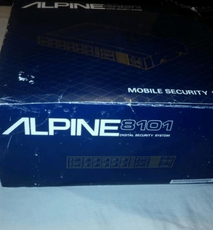 dirtyoldcars.com   Vintage Alpine Alarm 8101 Found in New Mexico   1