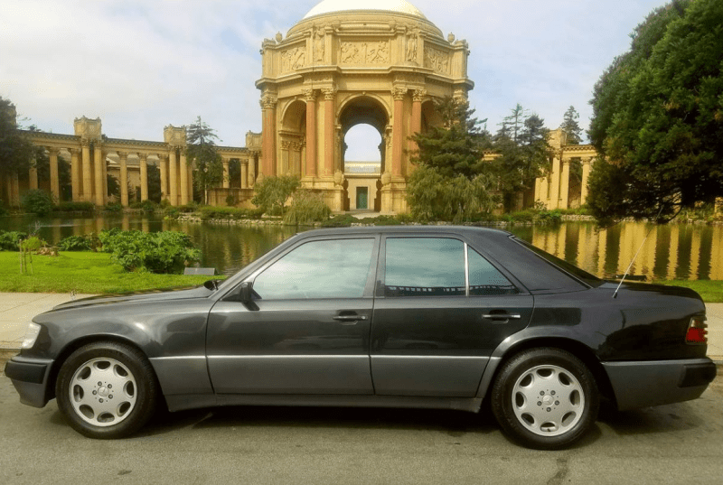 dirtyoldcars.com 1992 Mercedes 500E Found in Pacific Heights San Francisco California 8