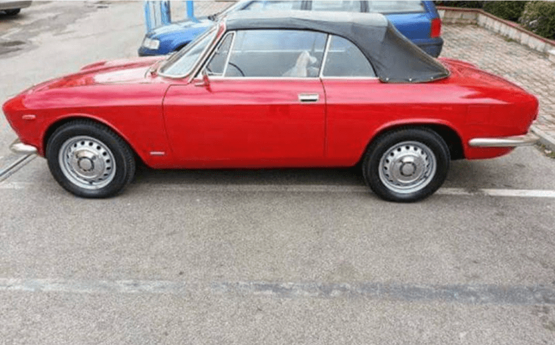 dirtyoldcars.com 1967 Alfa Romeo GTC Convertible Found in Modesto California 2