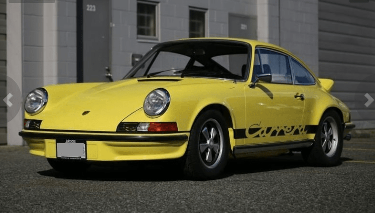 dirtyoldcars.coms 1973 Porsche 911 Carrera RS M472 Touring Found in Florida 7