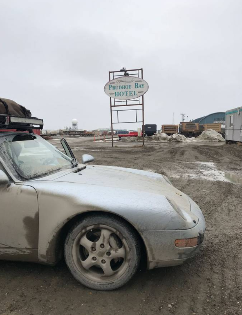 dirtyoldcars.com 1995 Porsche 993 LA to Alaska Trek For Sale 5