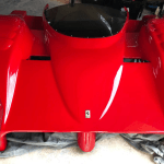 dirtyoldcars.com Ferrari 333 SP Front Body Found in Cohasset Massachusetts 9