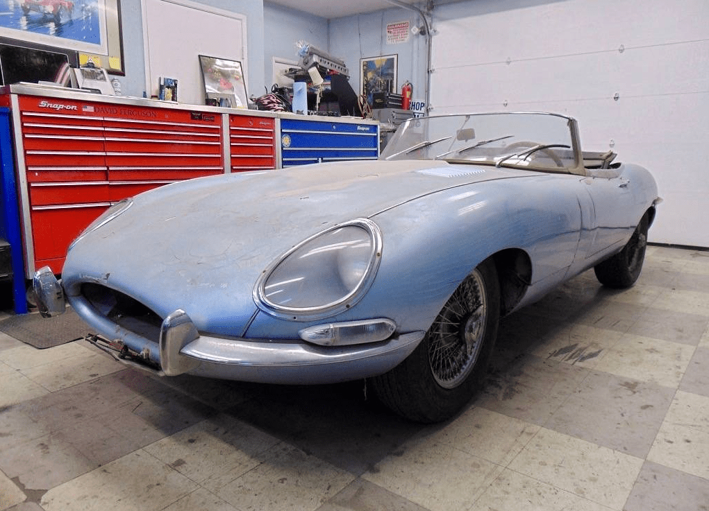 1964 Jaguar E-Type Roadster Found in San Francisco   Dirty Old Cars