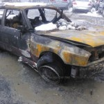 dirtyoldcars.com 1988 BMW M3 E30 Fire Damage 1