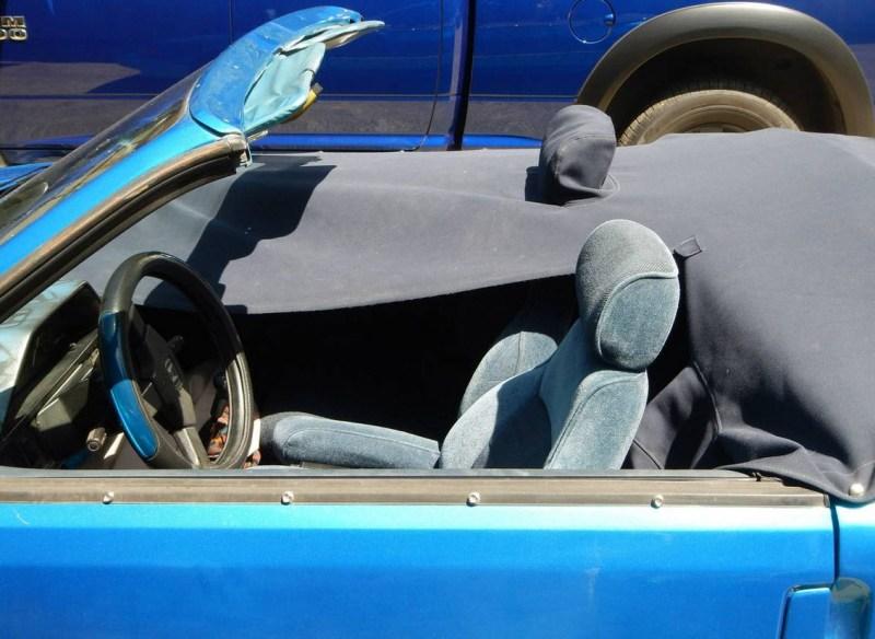 dirtyoldcars.com  1987 Honda CRX Convertible Found in Oregon  6