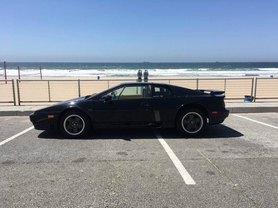 dirtyoldcars.com 1990 Lotus Esprit Turbo SE Found in California 1