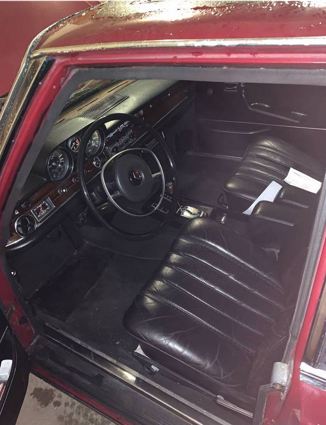 dirtyoldcars.com  Mercedes Benz Package Deal 1968 250 SE Cabriolet 1971 300 SEL 6.3     1