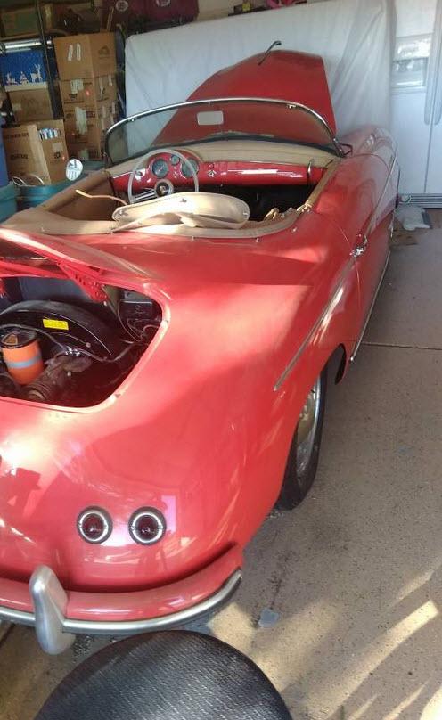 dirtyoldcars.com   1956 Porsche Speedster Found in Florida    3