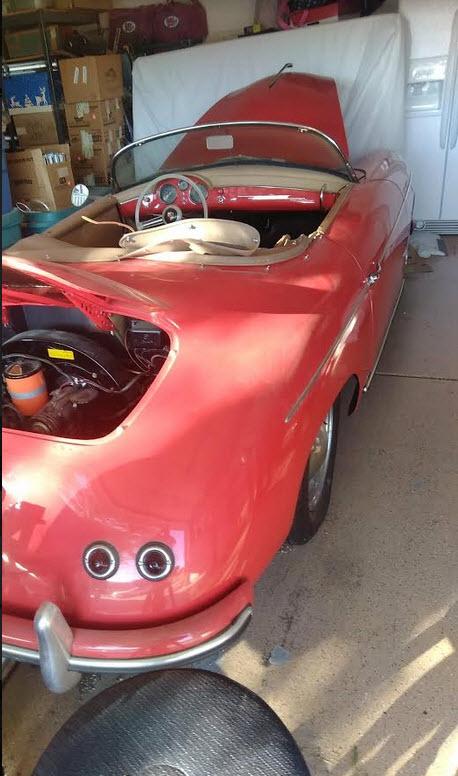 dirtyoldcars.com 1956 Porsche Speedster Found in Florida 6