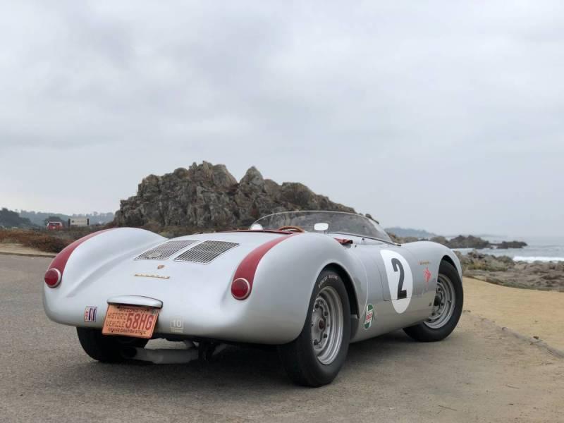 dirtyoldcars.com 1955 Porsche spyder by Beck  Arizona  3