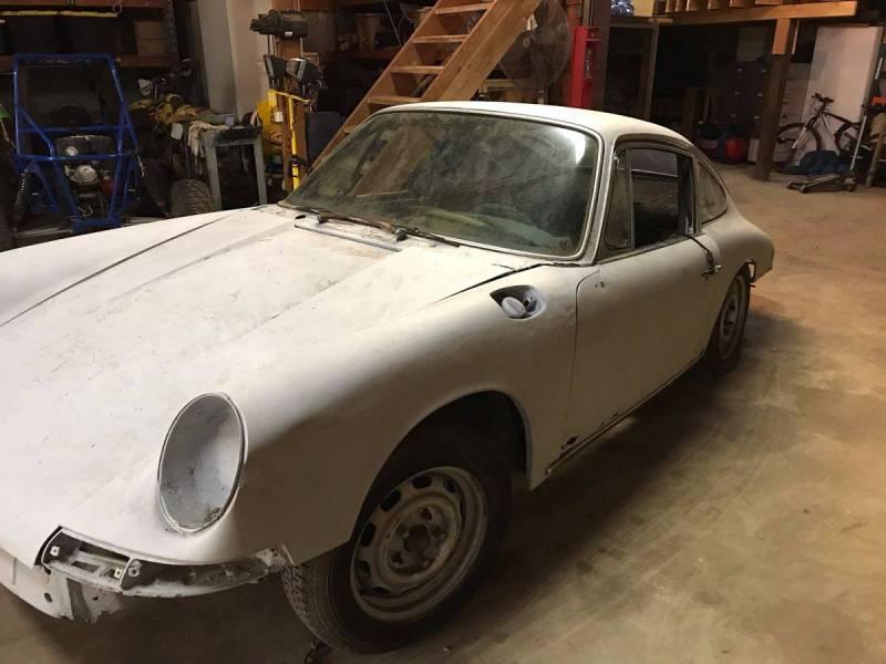 dirtyoldcars.com   1966 Porsche 911 shell sacramento   6