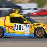 dirtyoldcars.com 1989 Honda Civic CRX SI Yellow Submarine Race Car Lemons Champ 6
