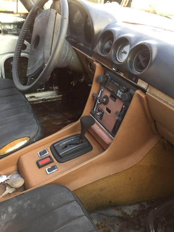 dirtyoldcars.com  george barris custom mercedes 450SL  Florida  6
