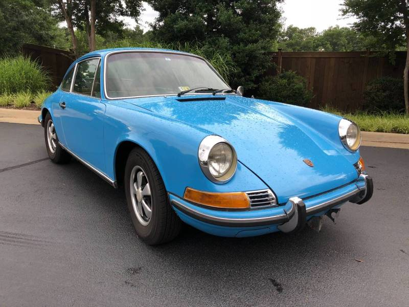 dirtyoldcars.com  Porsche 911T  1970  Houston Texas  2