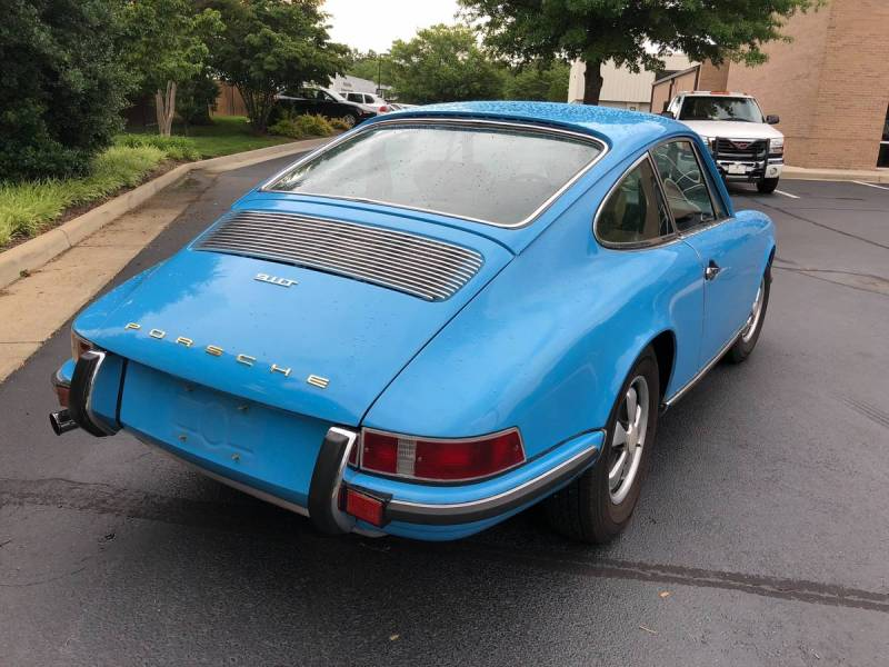 dirtyoldcars.com  Porsche 911T  1970  Houston Texas  1