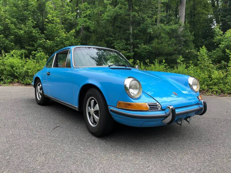 dirtyoldcars.com  Porsche 911T  1970  Houston Texas  6