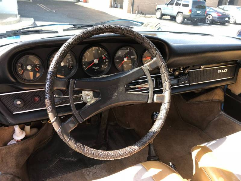 dirtyoldcars.com  Porsche 911T  1970  Houston Texas  4