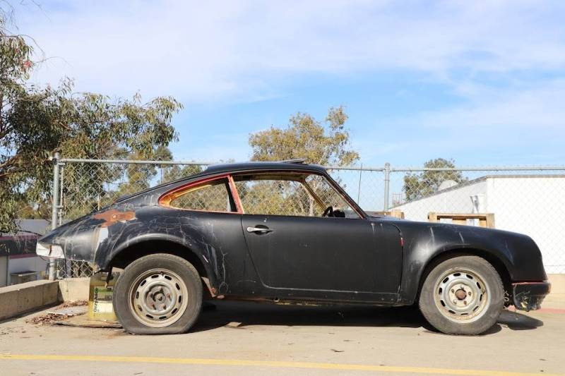 dirtyoldcars.com  1973 Porsche 911 T  RSR chassis California  4