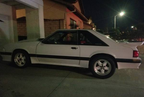 dirtyoldcars.com  1989 mustang saleen number car supercharged   1