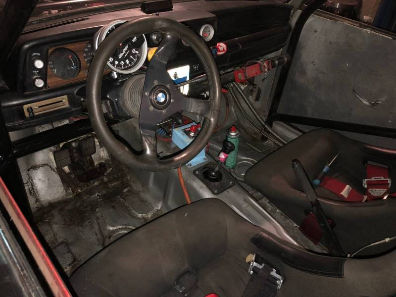 dirtyoldcars.com   1972 bmw 200tii race car colorado   4