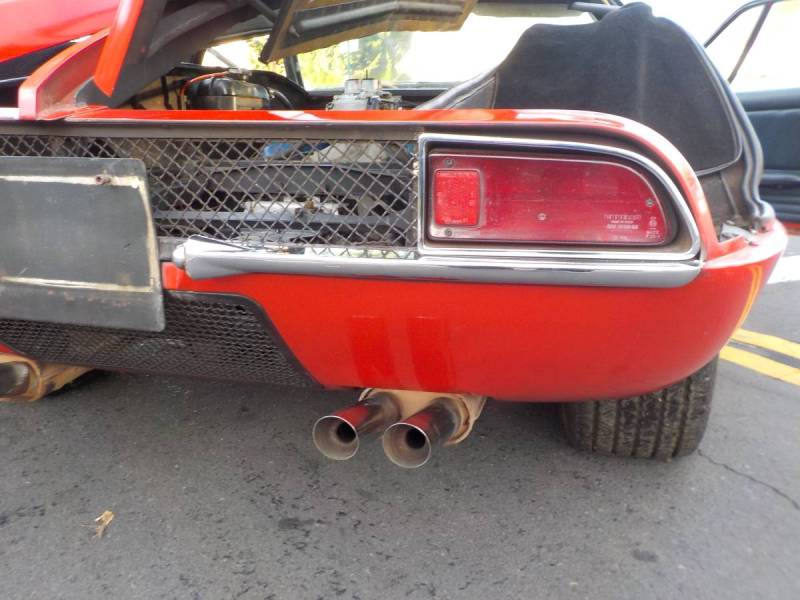 dirtyoldcars.com  1970 detomaso mangusta  new york 249k    11