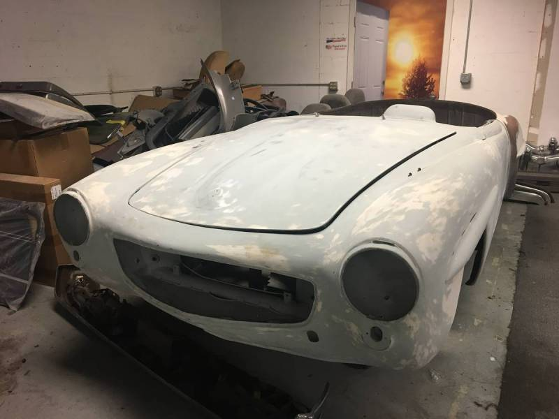 dirtyoldcars.com   Mercedes 1955 190 SL  Project Florida  5
