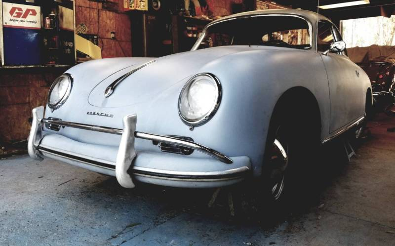 dirtyoldcars.com  Porsche 356A 1958 oroville  california   3