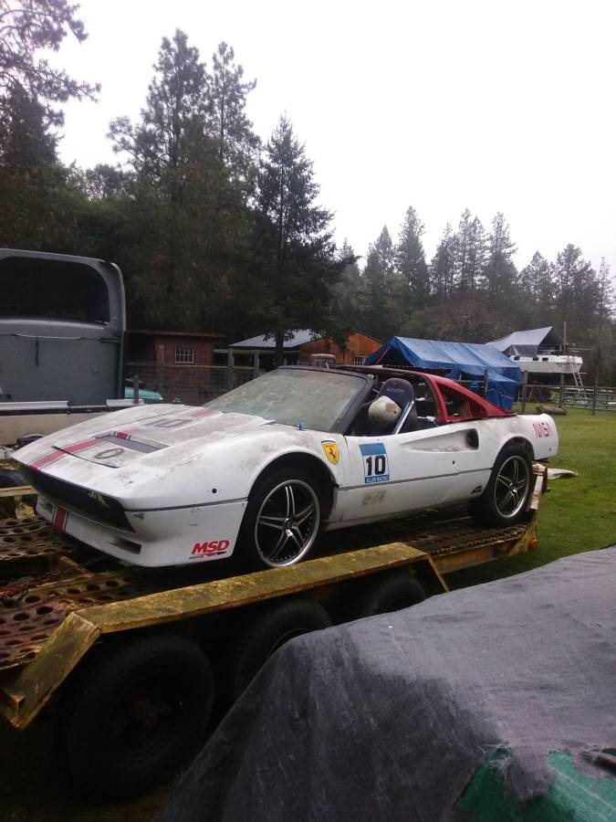 dirtyoldcars.com   ferrari 308  1983 race car project  portland  3