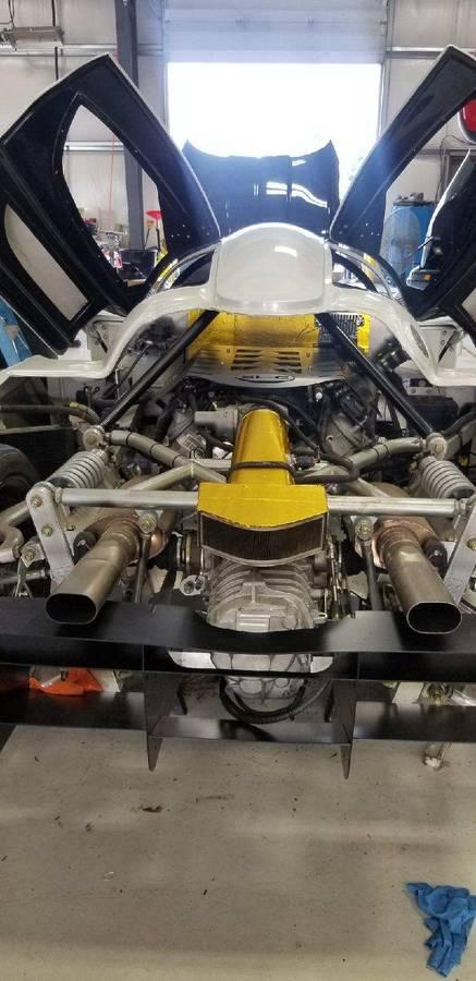 dirtyoldcars.com   Corvette Race Car Replica Superlite coupe  Seattle  74k   6