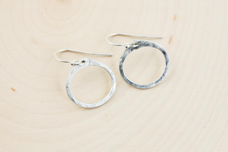 Small Hoop Silver Earrings Yafeini Genuine 925 Sterling