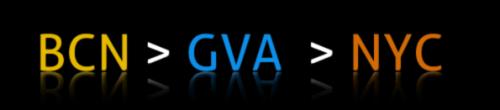 BCN  GVA NYC