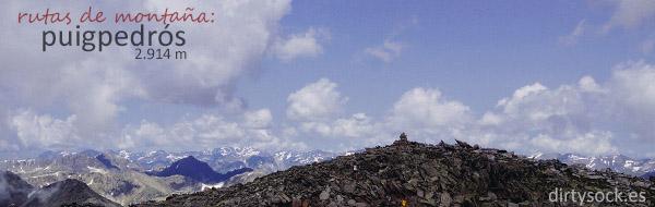 Rutas de montaña: Puigpedrós