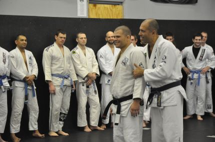 This man knows a thing or two about teaching jiu-jitsu.