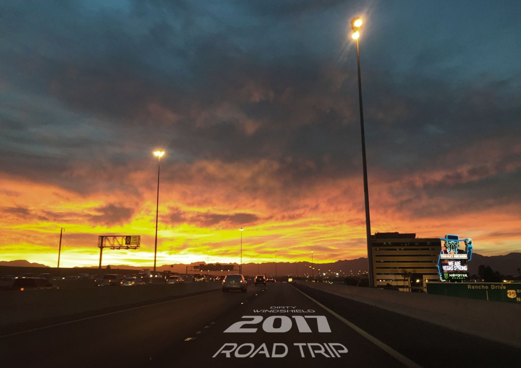 Sunset from Highway