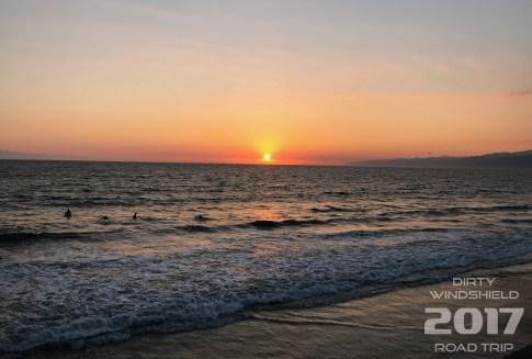 Nearing Sunset on Venice Beach