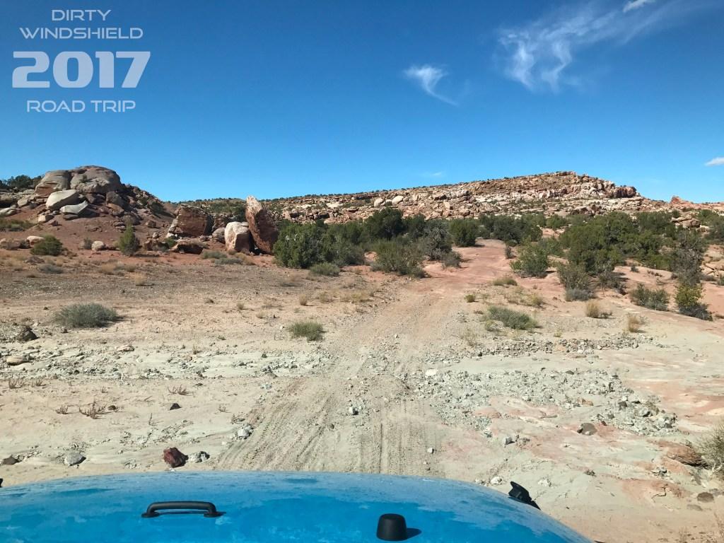 What Lies Ahead Trail of Moab, Utah