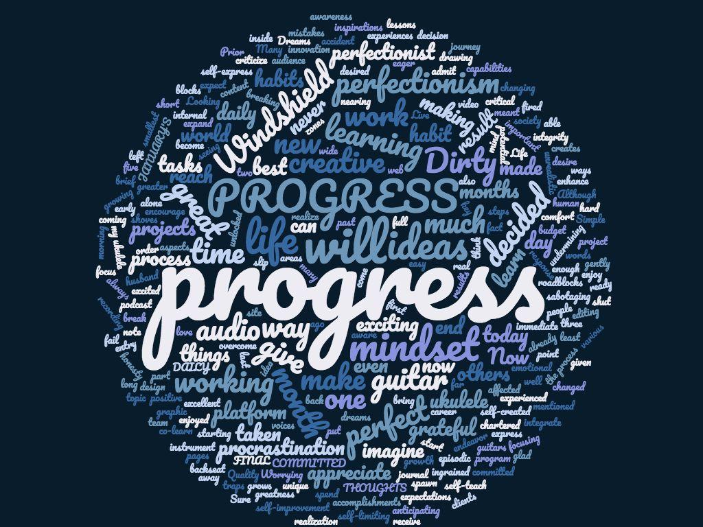 Progress Word Cloud