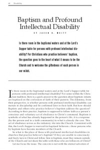 baptism-and-profound-intellectual-disability