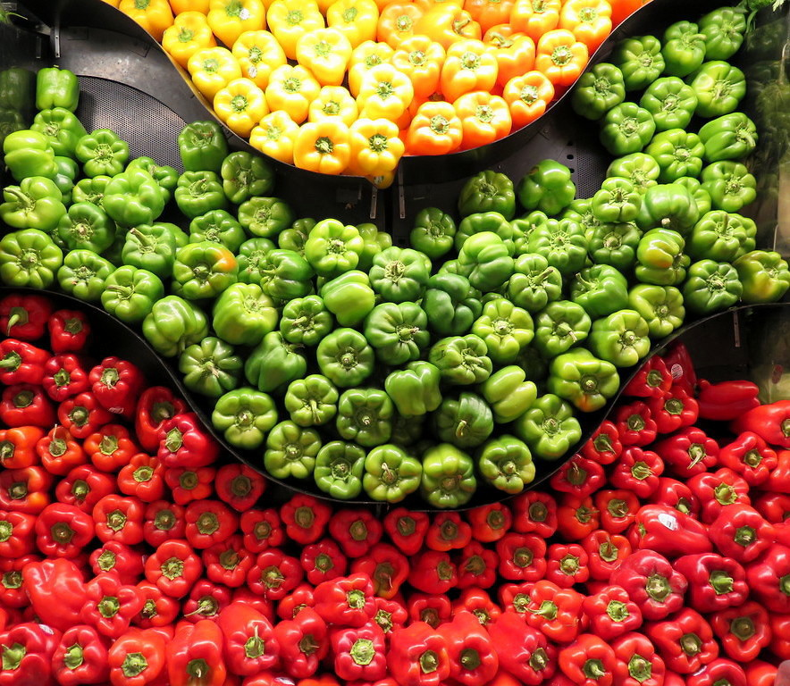 vegetarian stuffed peppers microwave