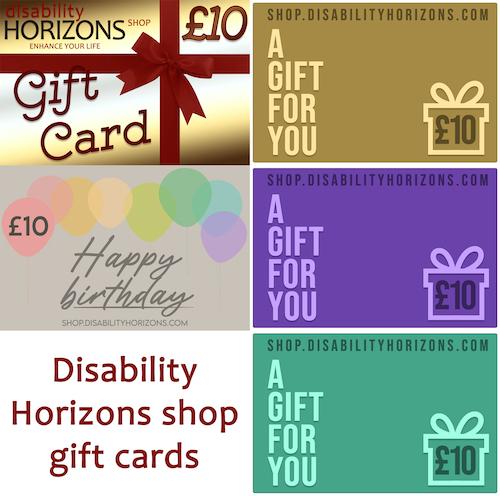 Disability Horizons e-gift card